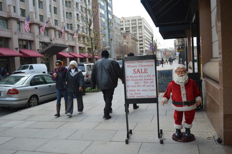 Santa awaits you!