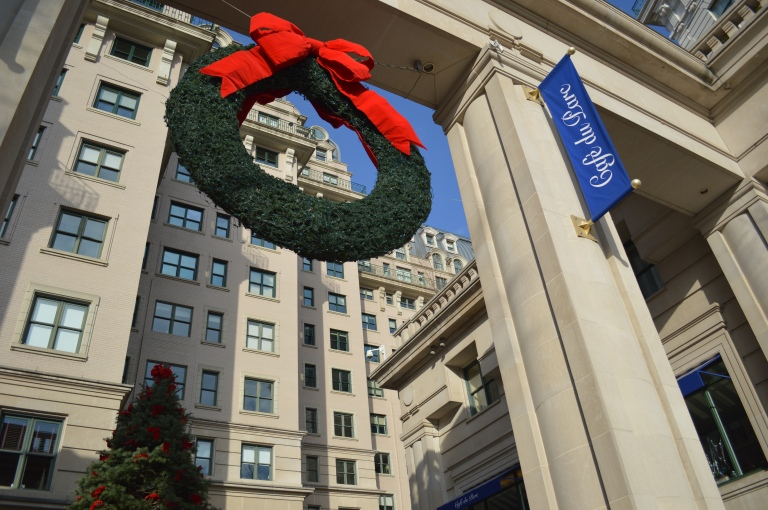 Christmas at the Willard Hotel.