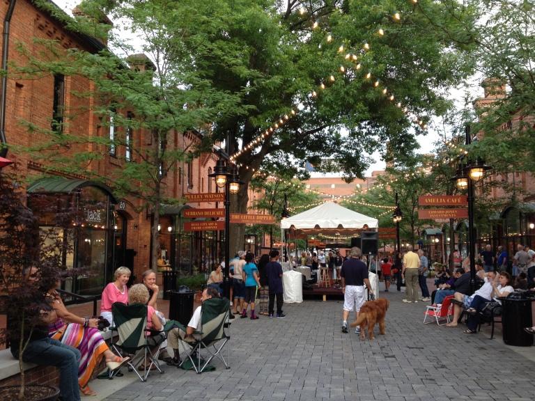 Brightleaf Square, Live bluegrass music, June 2014