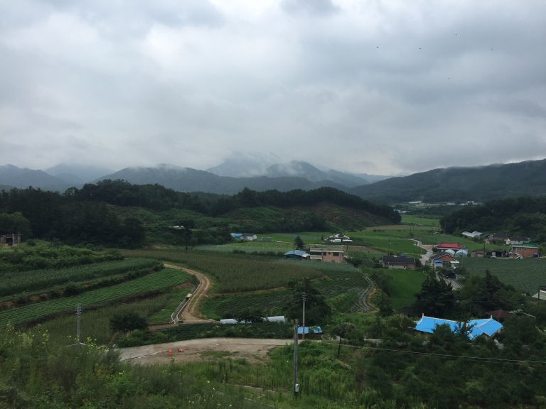 Korean country side